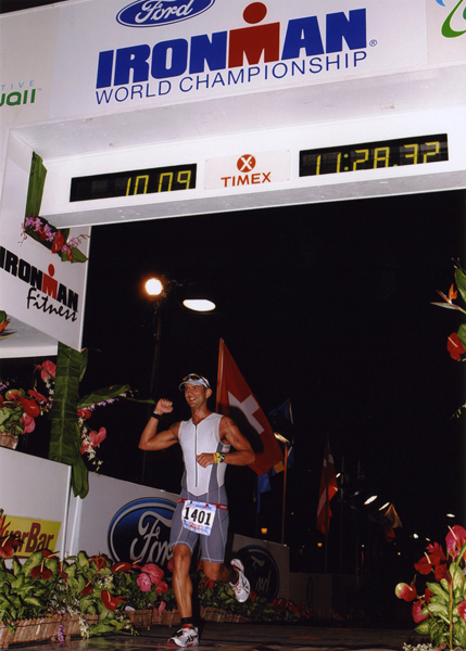 IM WC Kona 2007 finish