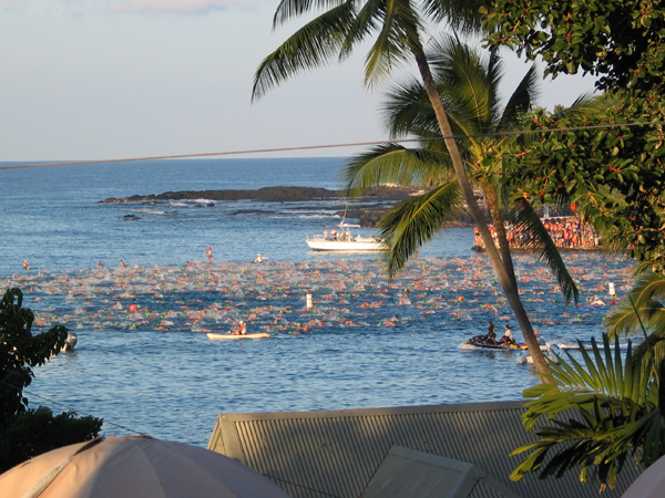 IM WC Kona 2007. Swim.